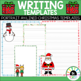 Christmas Writing Templates   Dotted Third Writing Paper