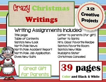 Christmas Writing Fun