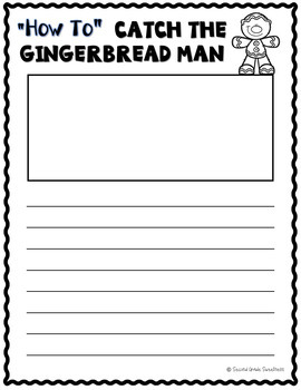 Christmas Writing Unit: How to Catch the Gingerbread Man