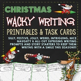 Christmas Writing (Wacky Narrative Writing Christmas)