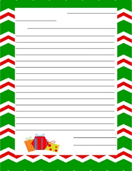 Christmas Writing and Letter Templates