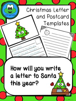 Christmas Writing and Postcard Templates