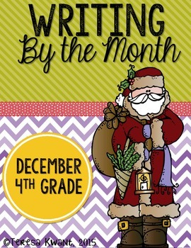 Christmas Writing Lessons for 4th Grade