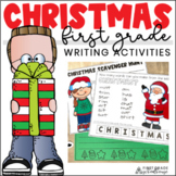 Christmas Writing for First Grade
