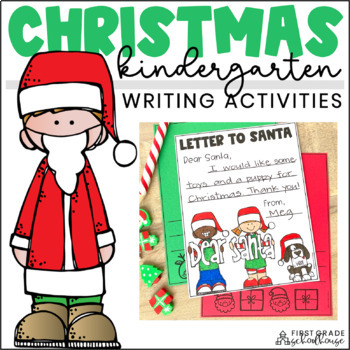 Christmas Writing for Kindergarten