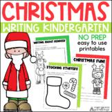 Christmas Writing Activities Kindergarten | Christmas Writing Prompts