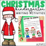 Christmas Writing for Kindergarten
