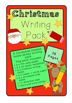Christmas Writing Pack