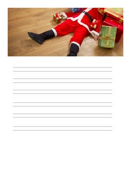 Christmas Writing prompts- Handwriting Without Tears