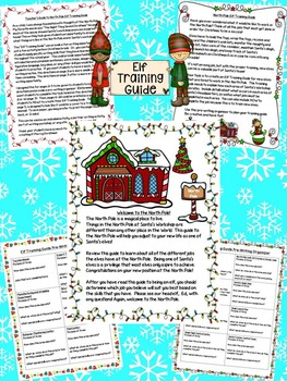 Christmas Writing:Elf Training Guide-Writing Task