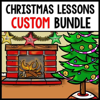 Christmas YOU Pick Bundle: Math, Reading, Writing, Cooking, Special Education
