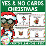 Yes & No Christmas Picture Question Task Cards