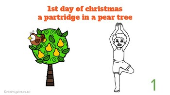 Christmas Yoga - 12 DAYS OF CHRISTMAS