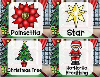 Christmas Yoga Cards and Printables