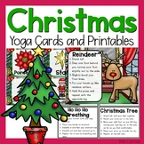 Christmas Yoga Cards and Printables