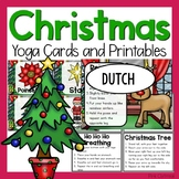 Christmas Yoga Cards and Printables - Dutch