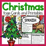 Christmas Yoga Cards and Printables - Spanish Espanol