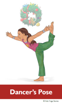 christmas yoga cards for kidskids yoga stories  tpt