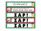 Christmas ZAP! Alphabetical Order