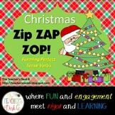 Christmas Zap! Forming Perfect Tense Verbs