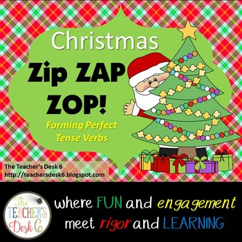 Christmas Zap! Forming Perfect Tense Verbs