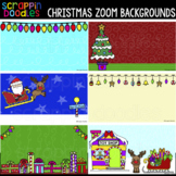 Christmas Zoom Backgrounds {Scrappin Doodles Clip Art}