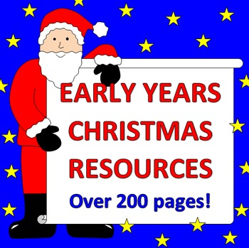Christmas activities- Math and Literacy
