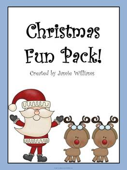 Christmas activities for grades 1-3