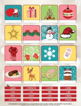 Christmas activity - ENGLISH