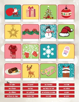 Christmas activity - FRENCH