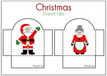 Christmas activity - Stand Ups