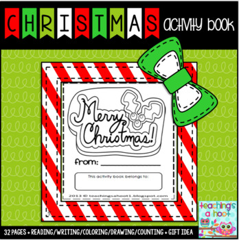Christmas activity book