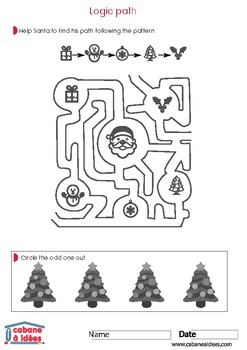 Christmas activity pack - 7-11 years old