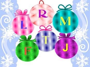 Christmas Activities - Alphabet - Numbers - Christmas tree - Bulletin board