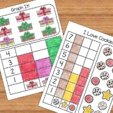 Christmas and December Kindergarten Math Activities and Worksheets