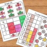 Christmas and December Kindergarten Math Activities and Wo