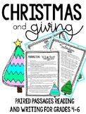 Christmas and Giving: Paired Passages
