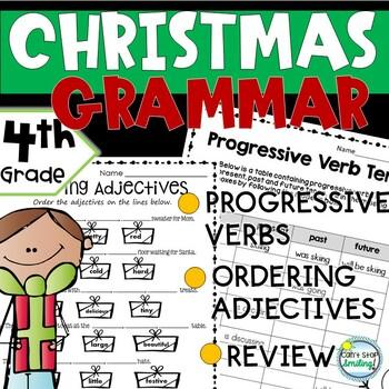 Christmas Activities 4th Grade ~ Christmas 4th Grade Grammar