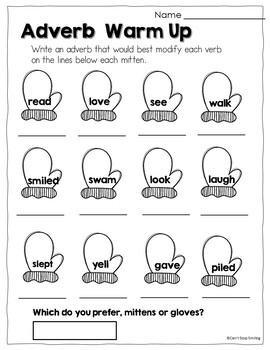 Christmas Activities ~ Christmas Grammar