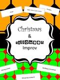 Christmas and Halloween Improv- Drama