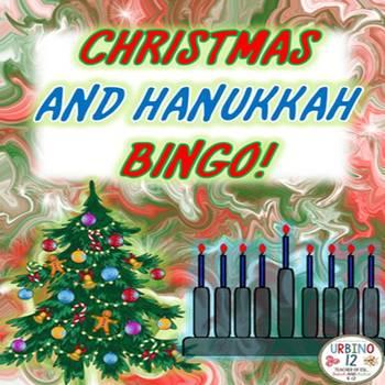 Christmas and Hanukkah Bingo
