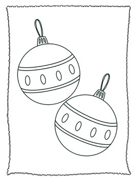 Christmas and Hanukkah Coloring Pages