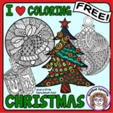 Christmas and Hanukkah I Heart Coloring! Free!