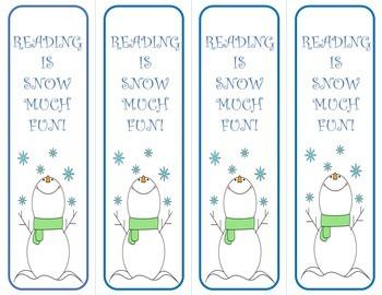 Christmas and Holiday Bookmarks