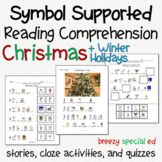 Christmas and Holidays - Symbol Supported Reading Comprehe