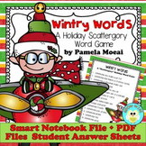 "Christmas and Holiday Wintry Words ""Scattergory-Type"" Word Game"