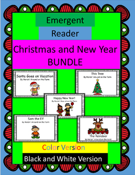 Christmas and New Year Bundle - Emergent Readers