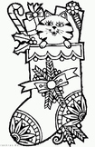 Christmas and New Year colouring pages