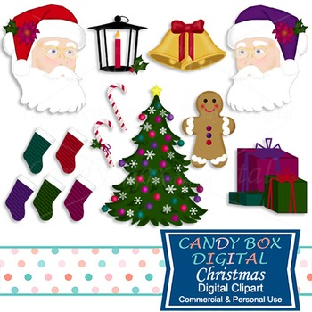 Christmas and Santa Clip Art