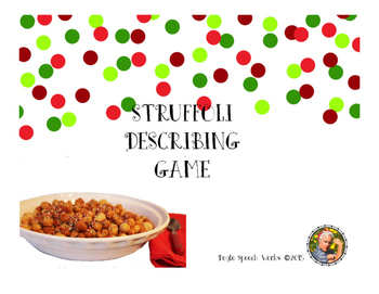 Christmas and Struffoli Describing Game